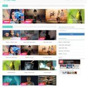 VebTube Blogger Templates