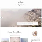 Vibe Responsive Blogger Templates