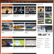 Video Portal Blogger Templates