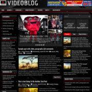 VideoBlog Blogger Templates