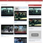 VideoLog Responsive Blogger Templates