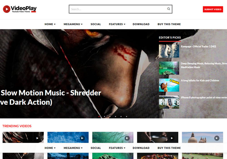 Videoplay blogger template blogspot templates 2018 videoplay blogger template is an automated youtube video blogger theme with best seo features and white maxwellsz