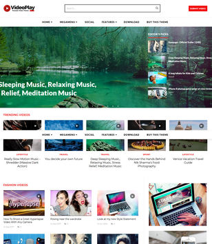 videoplay white blogger templates