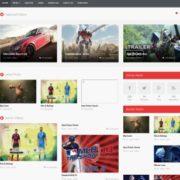 VideoTube Responsive Blogger Templates