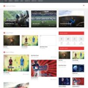 VideoTube Responsive Blogger Templates