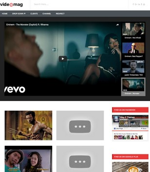 Videomag Responsive Blogger Template 2014 Free Download