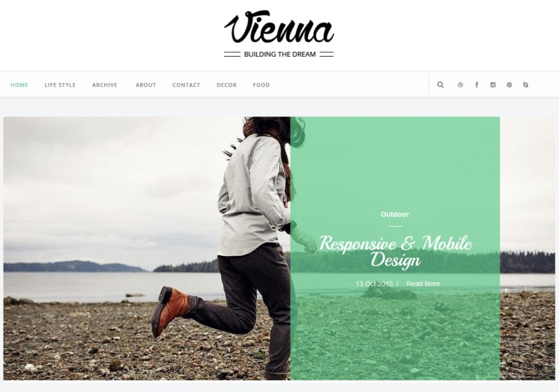 Vienna Blogger Template. This template designed by yotemplates. Best simple responsive template for blogger blog. Vienna Blogger Template