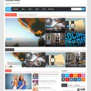 Vienna Mag Blogger Templates