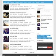 Vikka Fast Loading Blogger Templates
