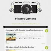 Vintage Camera Responsive Blogger Templates