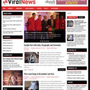 ViralNews Blog Blogger Templates
