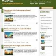VisitPress Blogger Templates