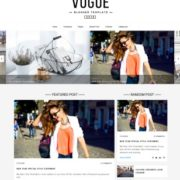 Vogue Blogger Templates