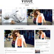 Vogue Blogger Templates