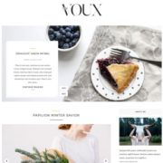 Voux Slider Blogger Templates