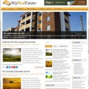 WP Real Estate Blogger Templates
