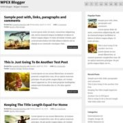 WPEX Simple Blogger Templates