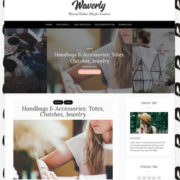Waverly Blogger Templates