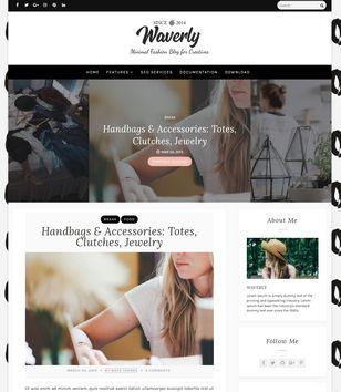 Waverly Blogger Templates