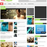 WePress Light Blogger Templates