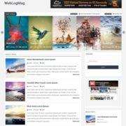 WebLogMag Responsive Blogger Templates