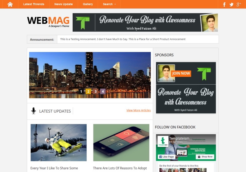 Webmag Blogger Template. Free Blogger templates. Blog templates. Template blogger, professional blogger templates free. blogspot themes, blog templates. Template blogger. blogspot templates 2013. template blogger 2013, templates para blogger, soccer blogger, blog templates blogger, blogger news templates. templates para blogspot. Templates free blogger blog templates. Download 1 column, 2 column. 2 columns, 3 column, 3 columns blog templates. Free Blogger templates, template blogger. 4 column templates Blog templates. Free Blogger templates free. Template blogger, blog templates. Download Ads ready, adapted from WordPress template blogger. blog templates Abstract, dark colors. Blog templates magazine, Elegant, grunge, fresh, web2.0 template blogger. Minimalist, rounded corners blog templates. Download templates Gallery, vintage, textured, vector, Simple floral. Free premium, clean, 3d templates. Anime, animals download. Free Art book, cars, cartoons, city, computers. Free Download Culture desktop family fantasy fashion templates download blog templates. Food and drink, games, gadgets, geometric blog templates. Girls, home internet health love music movies kids blog templates. Blogger download blog templates Interior, nature, neutral. Free News online store online shopping online shopping store. Free Blogger templates free template blogger, blog templates. Free download People personal, personal pages template blogger. Software space science video unique business templates download template blogger. Education entertainment photography sport travel cars and motorsports. St valentine Christmas Halloween template blogger. Download Slideshow slider, tabs tapped widget ready template blogger. Email subscription widget ready social bookmark ready post thumbnails under construction custom navbar template blogger. Free download Seo ready. Free download Footer columns, 3 columns footer, 4columns footer. Download Login ready, login support template blogger. Drop down menu vert