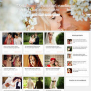 Wedding Mag Responsive Blogger Templates