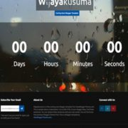Wijayakusuma soon Blogger Templates