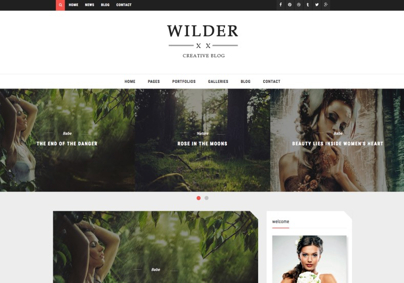 Photography Wilder Blogger Template. Blogger Themes. Best suitable for news blog templates. Ads ready blogspot templates help for add adsense ad code and easily showing adsence ads in your blog. Adapted from WordPress templates are converted from WordPress themes. It is help for take your rich. Blogger magazine template specially designed for magazine blogs. The writers can utilize this themes for take blog attractive to users. Elegant themes are more used themes in most of the blogs. Minimalist blog templates. Free premium blogger themes means, themes authors release two types of themes. One is premium another one is free. Premium templates given for cost but free themes given for no cost. You no need pay From California, USA. $10 USD, or $20 USD and more. But premium buyers get more facilities from authors But free buyers. If you run game or other animation oriented blogs, and you can try with Anime blog templates. Today the world is fashion world. So girls involve to the criteria for make their life fashionable. So we provide fashion blogger themes for make your fashionable. News is most important concept of the world. Download news blogger templates for publishing online news. You can make your blog as online shopping store. Get Online shopping store blogger template to sell your product. Navigation is most important to users find correct place. Download drop down menu, page navigation menu, breadcrumb navigation menu and vertical dropdown menu blogspot themes for free. Google Guide. Blogging tips and Tricks for bloggers. Google bloggers can get blogspot trick and tips for bloggers. Blog templates portfolio professional blogspot themes, You can store your life moments with your blogs with personal pages templates. Video and movie blogs owners get amazing movie blog themes for their blogs. Business templates download. We publish blogger themes for photographers. Photographers easily share photos via photography blog themes. St valentine Christmas Halloween templates. Download Slideshow slider templates for free. Under construction coming soon custom blogspot template. Best beautiful high quality Custom layouts Blog templates from templateism, SoraTemplates, templatetrackers, simple, cute free premium professional unique designs blog themes blogspot themes. Seo ready portfolio anime fashion movie movies health custom layouts best download blogspot themes simple cute free premium professional unique designs xml html code html5.