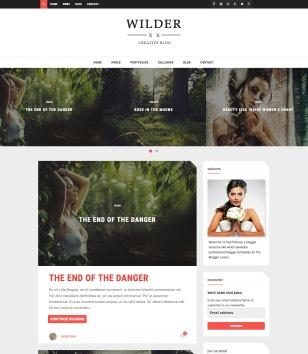 Wilder Blogger Templates