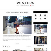 Winters Blogger Templates