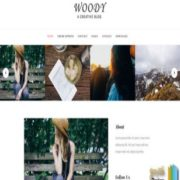Woody Blog Blogger Templates