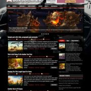 WorldGamer Blogger Templates