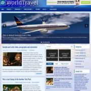 WorldTravel Blogger Templates