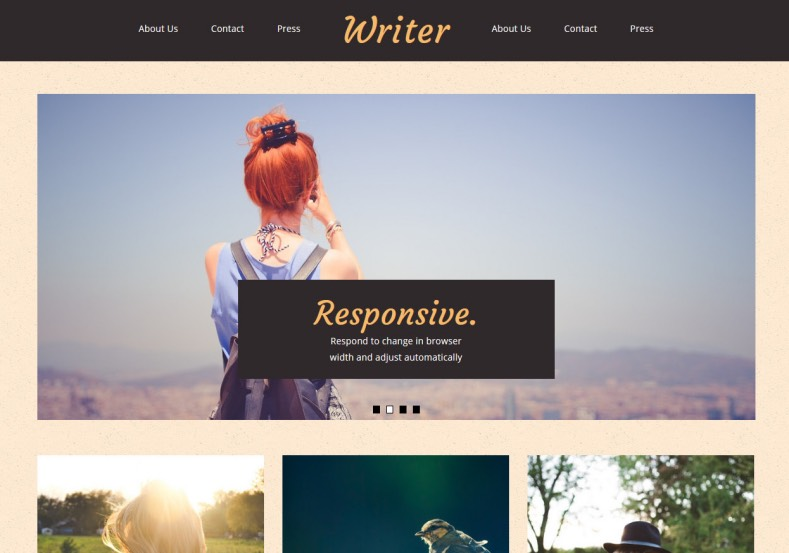 free blogger templates with slider - writer blogger template blogspot templates 2018