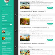 Writr Responsive Blogger Templates
