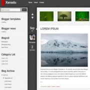 Xanadu Blogger Templates