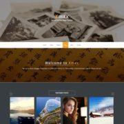 Xmax portfolio Responsive Blogger Templates