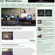 YardZine Blogger Templates