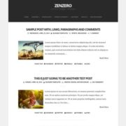 Zenzero Blogger Templates