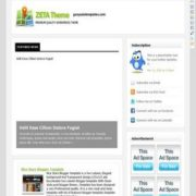 Zeta Theme Blogger Templates
