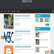 Zikazev Flat Responsive Blogger Templates
