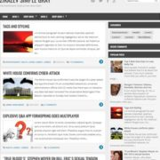 Zikazev Simple Gray Blogger Templates