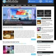 eMobile Blogger Templates