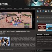 i Games blogger template