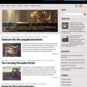 iBlogger Blogger Templates
