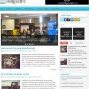 iMagazine Blogger Templates
