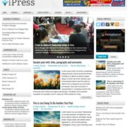 iPress Blogger Templates