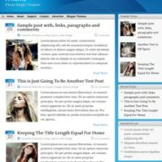 iTheme Blogger Templates