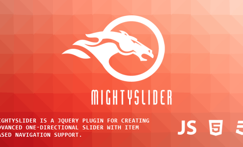 mightySlider - Responsive Multipurpose Slider